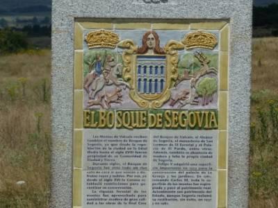 Camino de Santiago - Segovia, Valsain, Bosque de Segovia; la casa de campo; rascafria rutas